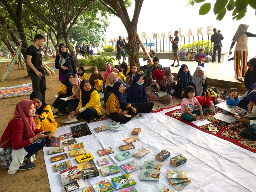 SRS-TEFLIN Reading Event in Jakabaring Sport City