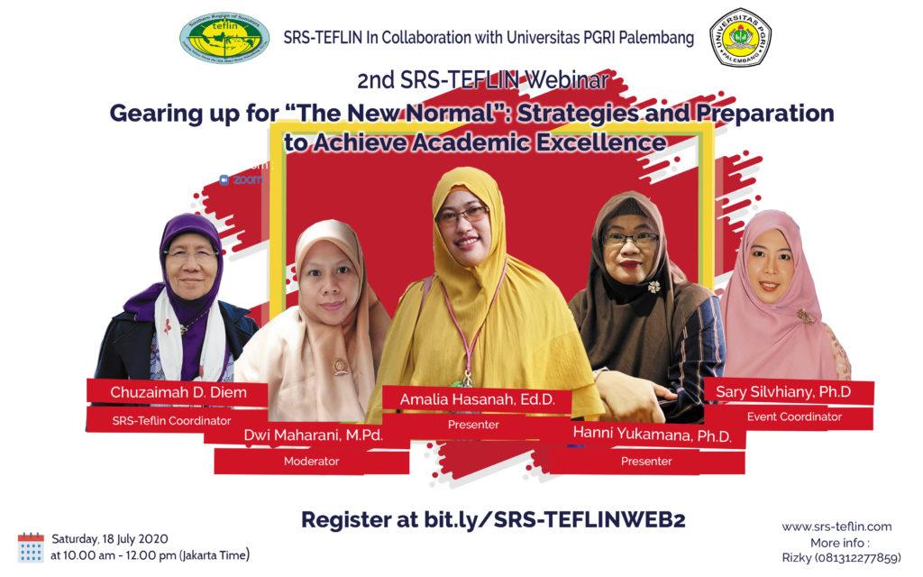 SRS-Teflin In collaboration with Universitas PGRI Palembang